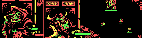 Warcraft CGA by Jinn
