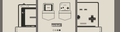 GrafxKid Gameboy Pocket (Gray) Palette