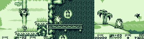 Taz-Mania for Gameboy screenshots